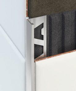 L Premium Profile Aluminium 18.5mm Mill Finish x 3m-0