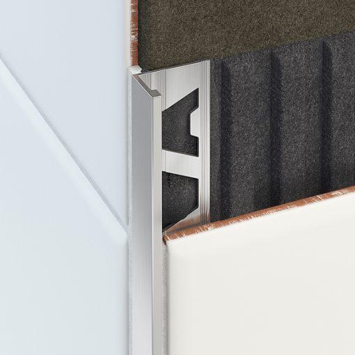 L Profile Aluminium 10mm Matt Silver x 3m-50