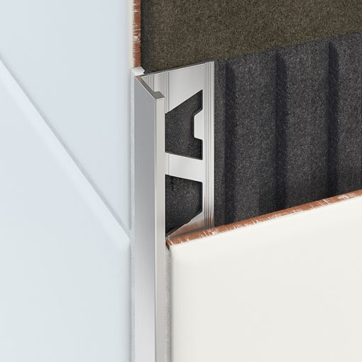 L Profile Aluminium 15mm Matt Silver x 3m-53
