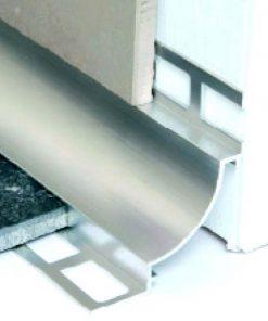 All-Cove Profile Aluminium 10 x 8 Matt Silver x 3m-0