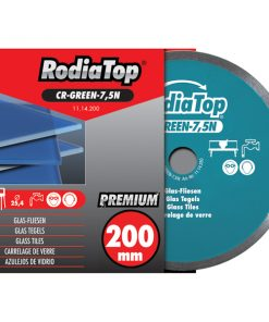 Rodia Glass Blade 125mm Cont. Rim-0