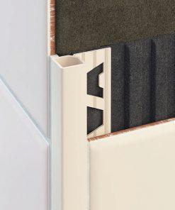 All-Quad Profile Aluminium 10mm Alabaster x 3m-0