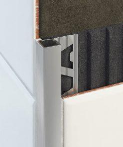 All-Quad Profile Aluminium 15mm Matt Silver x 3m-0