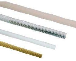 Towel Rail - White 25 x 1200mm-0