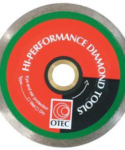 "Otec Cont Rim Blade 5"" - 125mm Wet/Dry-0"
