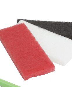 Scouring Pad Fine - White-b-0