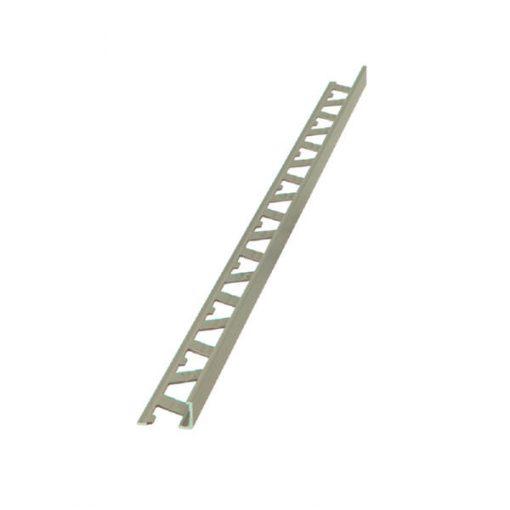 L Profile Aluminium 10mm Ash x 3m-0
