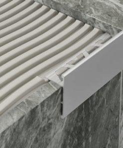All-Edge Profile Aluminium 10mm Matt Silver x 3m-0