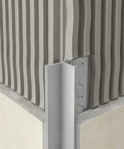 Birdsmouth Profile Aluminium 10mm Bright Silver x 3m-0