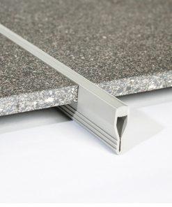 All-Screed Profile PVC 9mm Buff x 2.5m-0