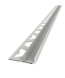 All-Channel Profile Aluminium 8mm Matt Silver x 3m-0