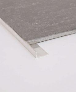 Geo Angle Profile Aluminium 50 x 40 x 1.6mm Bright Silver x 3m-0
